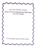 Harold and the Purple Crayon Packet