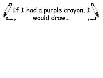 Harold and the Purple Crayon Activity (Purple Activity)