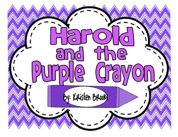 Harold and the Purple Crayon Writing Activities