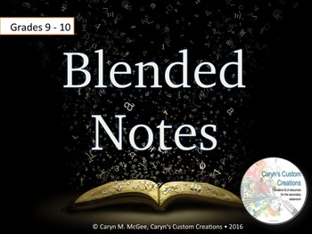 Blended Notes Reading Activity for Haroun and the Sea of Stories