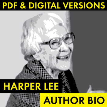 harper lee biography summary