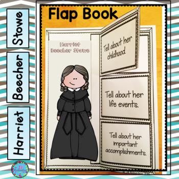 Harriet Beecher Writing