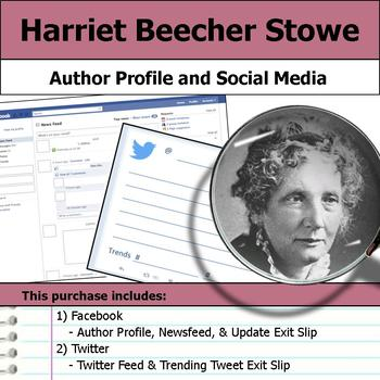 Harriet Beecher Stowe - Author Study - Profile and Social Media