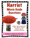 Harriet Movie Guide Questions