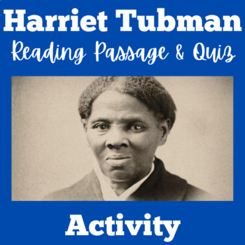 Harriet Tubman Activity