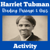 Harriet Tubman Underground Railroad Activity