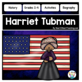 The Life Story of Harriet Tubman Unit with Articles, Activities & Flip Book