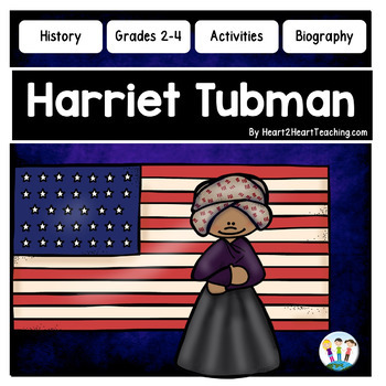 Harriet Tubman Organizers for Guided Research: Perfect for