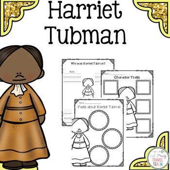 Harriet Tubman Study for Primary Grades