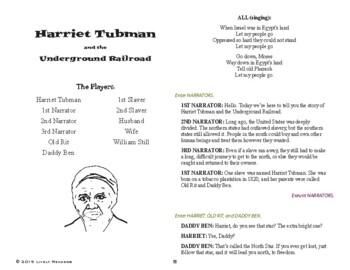 Harriet Tubman, American Hero