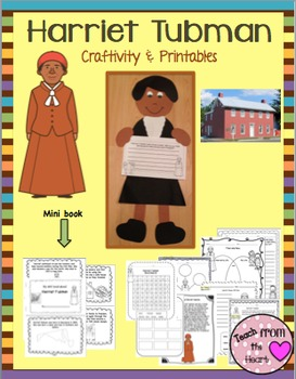 Harriet Tubman (A Black History Month Craftivity)