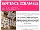 Harriet Tubman Activity | Building Sentences | Scrambled Sentences