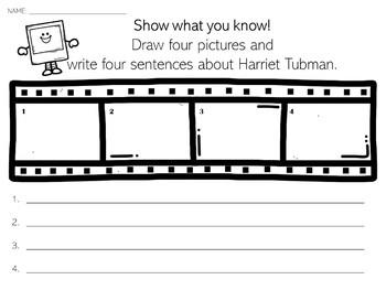 Harriet Tubman | Biography Activity