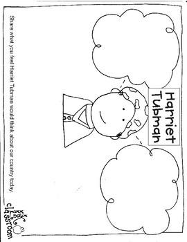 Harriet Tubman Activity Packet