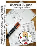 Harriet Tubman Activity Packet