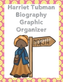 Harriet Tubman Biography Graphic Organizer