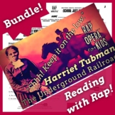 Harriet Tubman Reading Passage Activities Bundle Using Bio