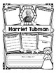 Harriet Tubman Research Organizers for Women's History Month