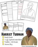 Harriet Tubman Biography Report (K-8th)