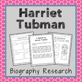 Harriet Tubman Biography Research, Civil Rights, Black His