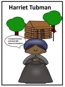 Black History Hero Harriet Tubman Biography and Fun Acitiv