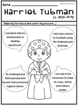 Harriet Tubman   Black History