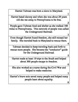 Harriet Tubman Center Book