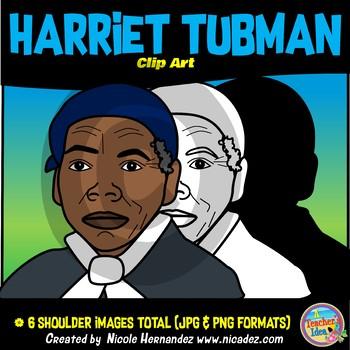 Harriet Tubman Clip Art for Teachers