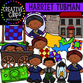 Harriet Tubman Clipart {Creative Clips Clipart}