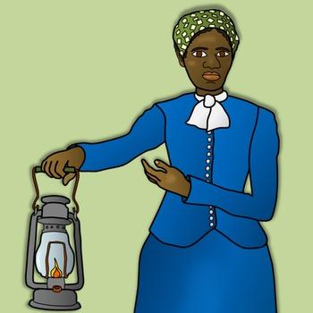 harriet tubman clipart and paper dolls by teacher s palette tpt rh teacherspayteachers com Harriet Tubman Underground Railroad Map Harriet Tubman Underground Railroad Map