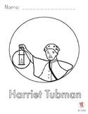 Harriet Tubman Coloring