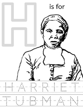 Harriet Tubman Coloring Worksheets & Teaching Resources | TpT