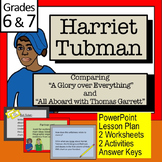 "HARRIET TUBMAN: Comparing ""A Glory Over Everything"" with ""All Aboard with TG"""