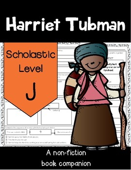 Harriet Tubman Comprehension Questions by Catherine Nichols