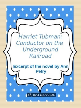 Harriet Tubman: Conductor on the Underground Railroad (excerpt)