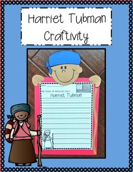 Harriet Tubman Craftivity