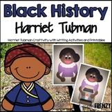 Harriet Tubman Craftivity (Black History Month Craft)