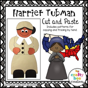 Harriet Tubman Cut and Paste