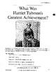 Harriet Tubman: DBQ