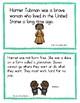 Harriet Tubman Decodable Mini-book