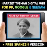 Harriet Tubman Digital Activities for Google and Seesaw -