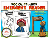 Harriet Tubman Emergent Reader {Black History} Kindergarten & First Grade