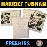 Harriet Tubman FREEBIE - Fun Black History Month Activities