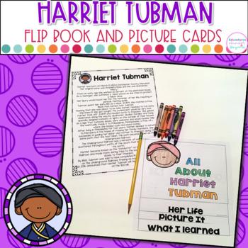 Harriet Tubman- Flip Book and Vocab Cards