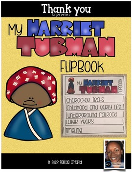 Harriet Tubman Flipbook