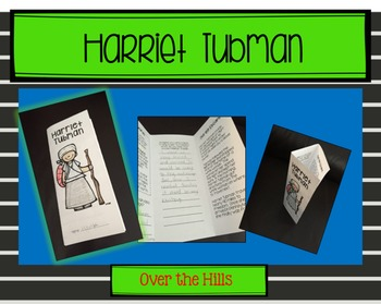 Harriet Tubman Foldable: Nonfiction Print & Go