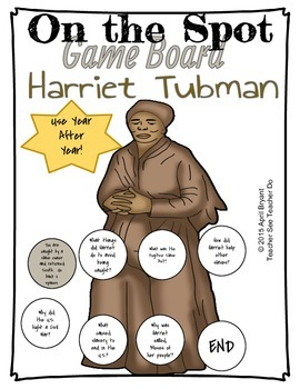 Harriet Tubman Game On the Spot