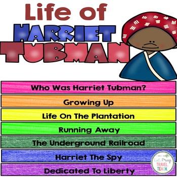 Harriet Tubman Digital Flip Book