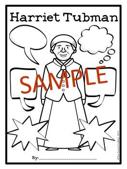 Harriet Tubman Graphic Organizers