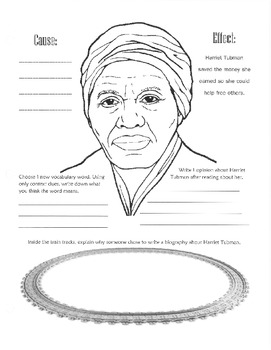 Harriet Tubman Guided Reading Packet